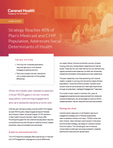 Medicaid and CHIP HEDIS engagement case study