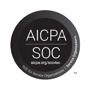 AICPA SOC for Service Organizations seal