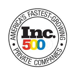 Inc 5000's America's Fastest Growing Private Companies logo