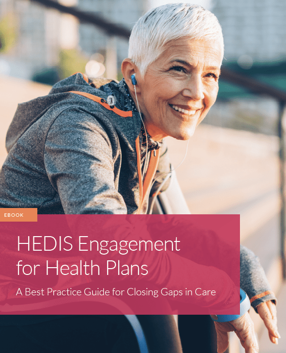 Ebook cover: HEDIS Engagement for Health Plans
