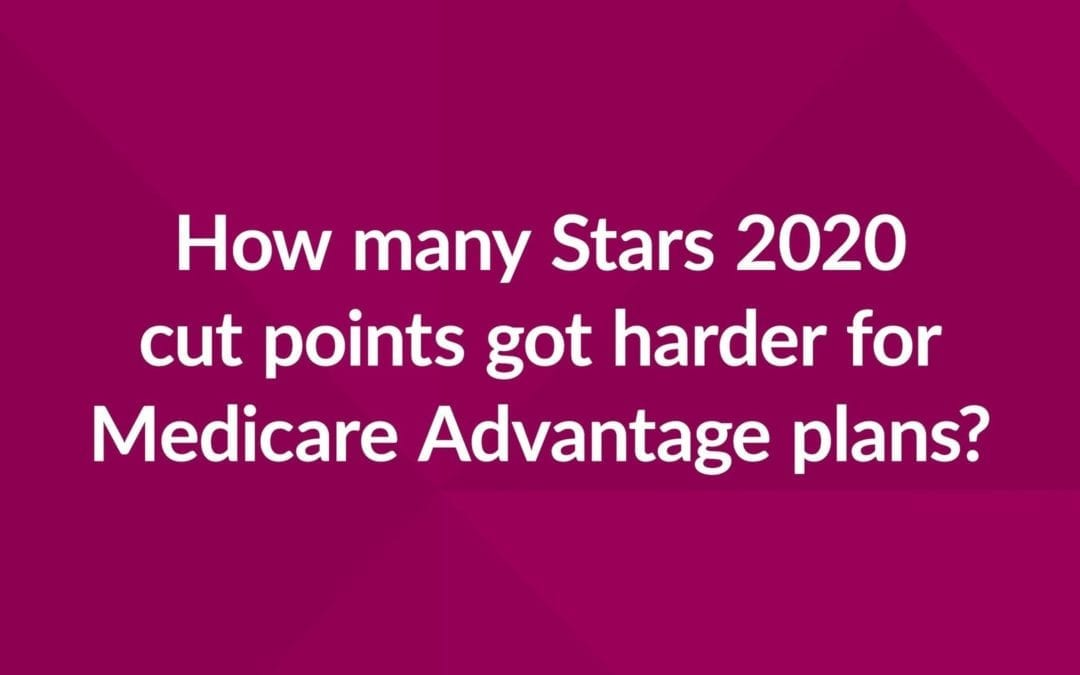 CMS Stars Cut Point Analysis: A Look at 2020 Shifts for Health Plans