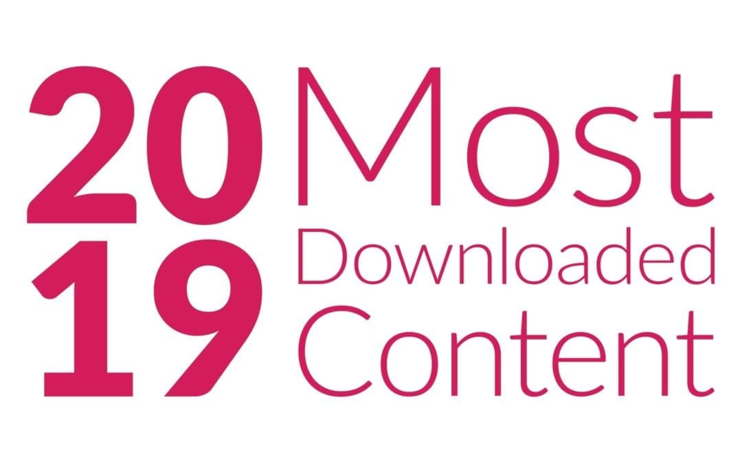 2019 Most Downloaded Healthcare Engagement Content from Carenet