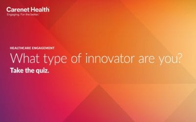 Online Tool for Healthcare Engagement Leaders: What Type of Innovator Are You?