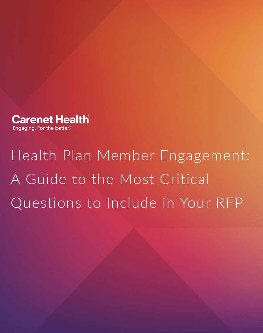 Cover of the Health Plan Engagement RFP Guide