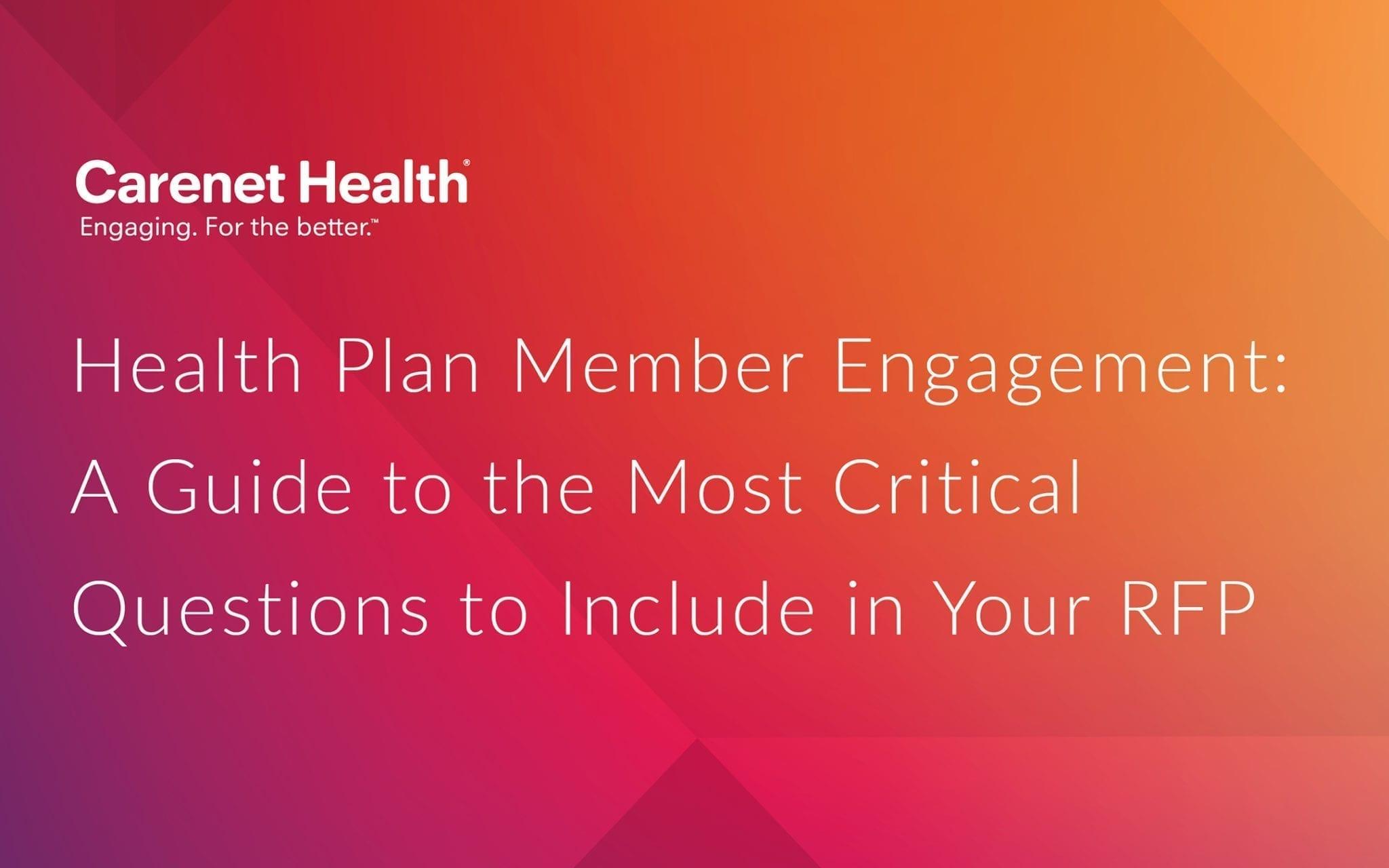 Health Plan Member Engagement Guide