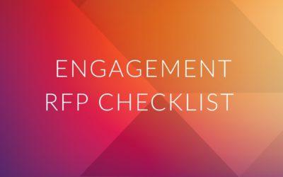 Quick RFP Checklist for Health Plan Member Engagement Programs