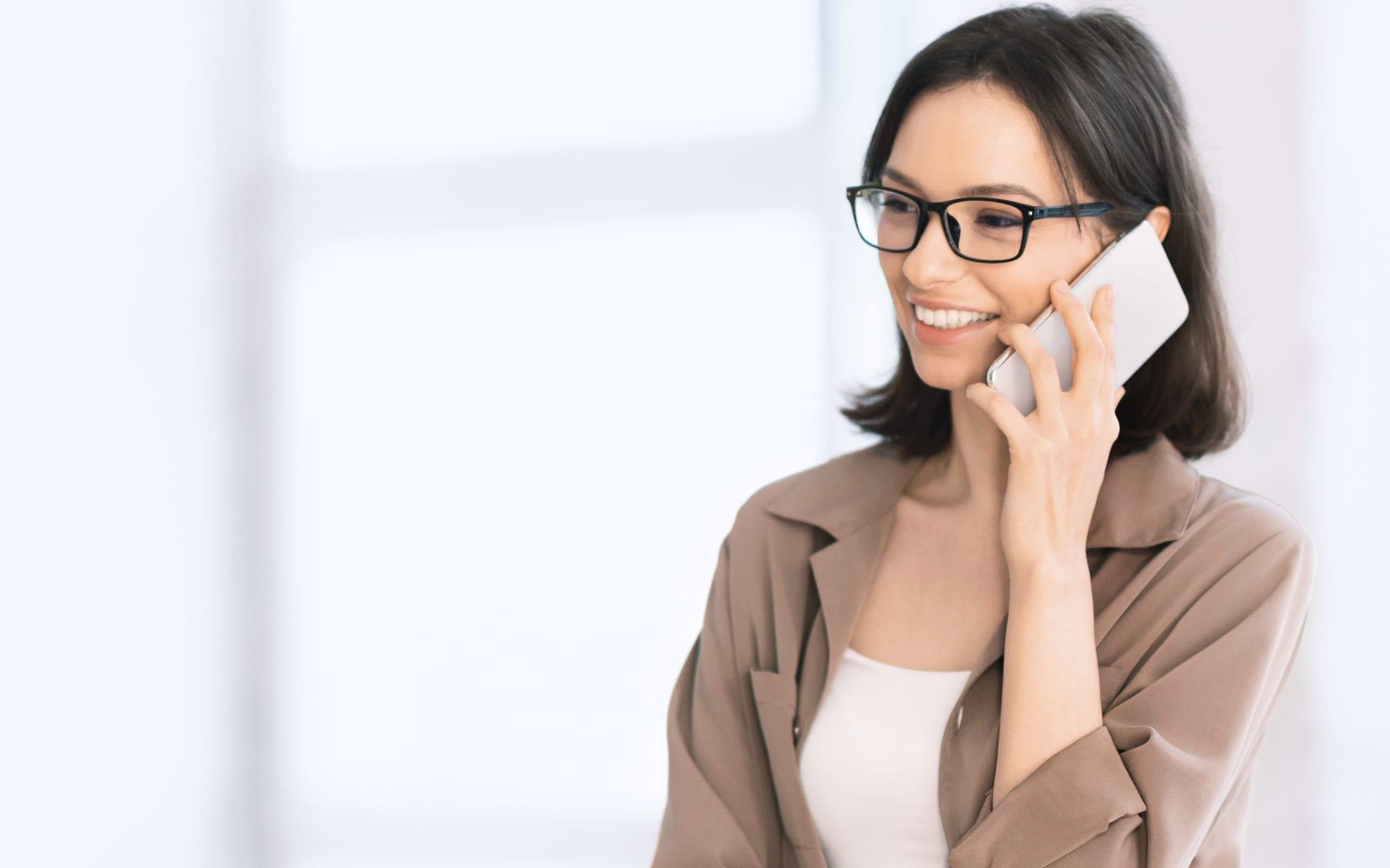 woman using Telehealth
